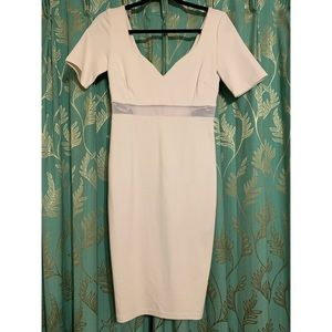 Olivaceous Dresses - White dress